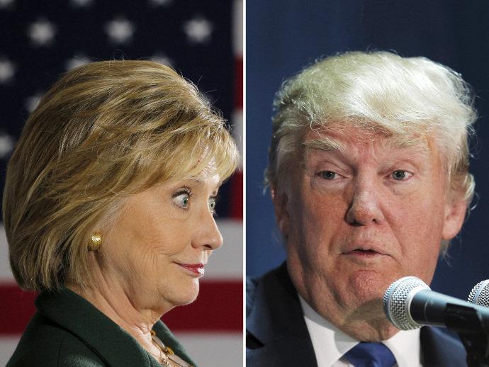 Vantagem de Hillary sobre Trump cresce, segundo novas pesquisas