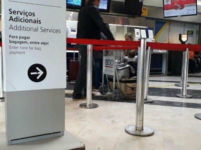Companhias são autuadas por não informar sobre franquia de bagagens
