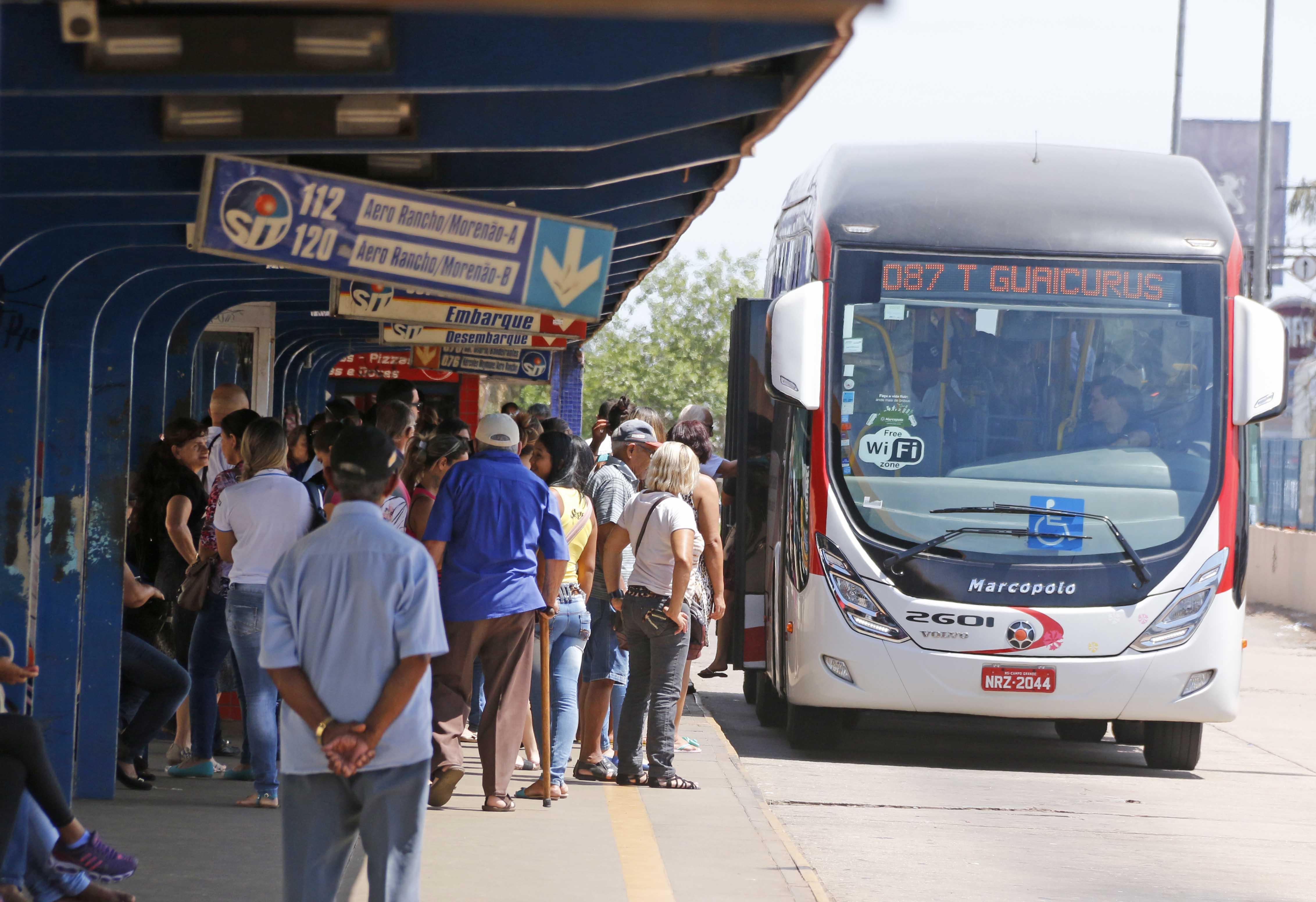 Tarifa do transporte coletivo deve subir para R$ 3,70 em Campo Grande