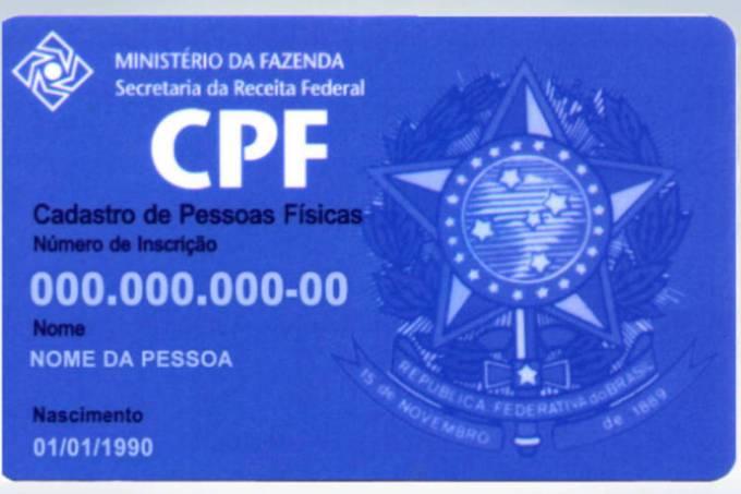 CPF vira documento único para acessar informações e benefícios do governo