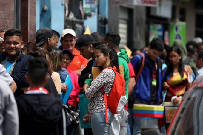 Economia forte atrai venezuelanos ao Peru