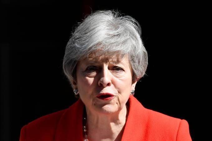 Corrida para suceder May tem como foco batalha do Brexit sem acordo