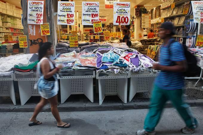 Vendas no varejo do Brasil terminam 1º trimestre com leve ganho