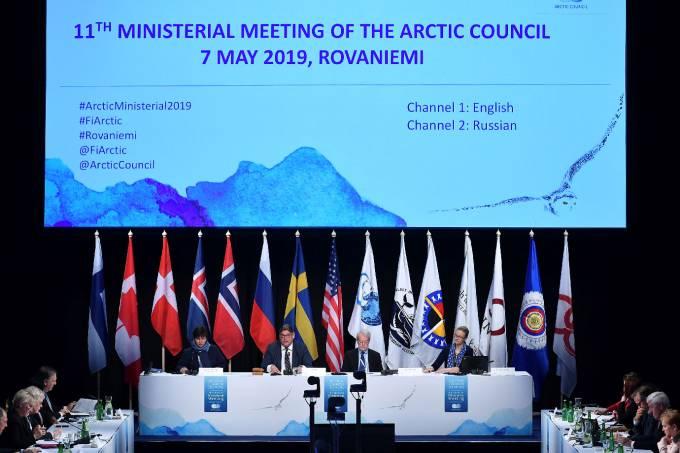 EUA rejeitam acordo do Ártico devido a desavenças sobre mudança climática