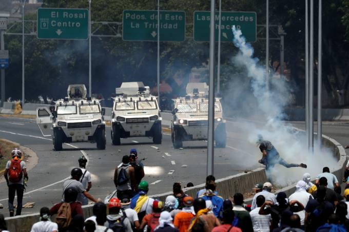 5 pessoas morreram durante protestos na Venezuela, segundo a ONU