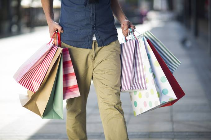 Fazer compras pode deixá-lo famoso