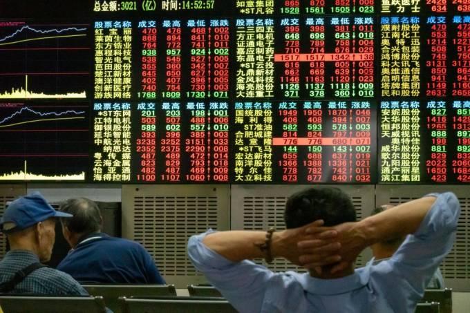 Após pânico da última semana, bolsas sobem na Ásia