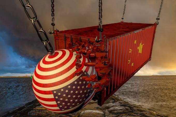 Estragos da guerra comercial começam a pesar sobre consumidores