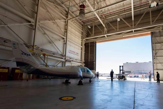 Nasa vai iniciar testes de seu avião totalmente elétrico